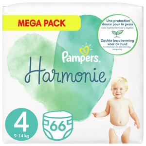 Pampers Harmonie Couches Taille 4 - 9/14 kg