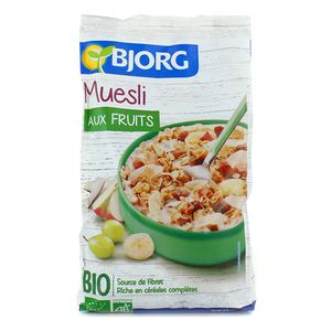 Bjorg Muesli aux fruits bio