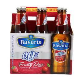Bavaria Bière blanche cerise & framboise 0.00°