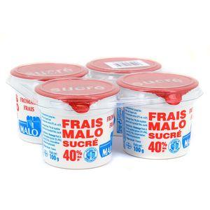 Malo Fromage frais sucré 40% Mat.gr