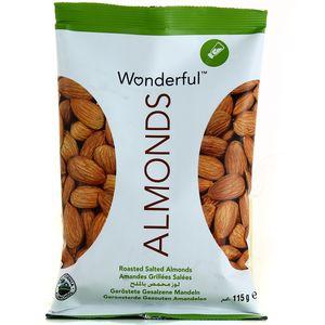 wonderful almonds amandes grill es sal es 115g. Black Bedroom Furniture Sets. Home Design Ideas