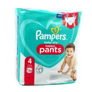 Pampers Babydry Pants Couches culottes T4 9/15kg