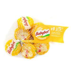 Babybel Mini fromage jaune filet x6