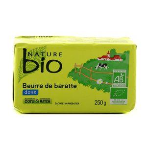 Nature Bio Beurre Doux de baratte, Bio