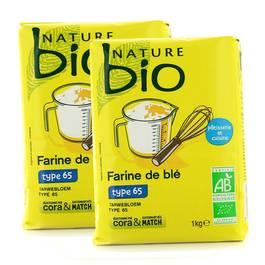 Nature Bio Farine de blé bio, type 65