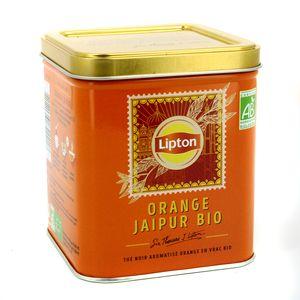 Lipton Thé noir orange Jaipur bio