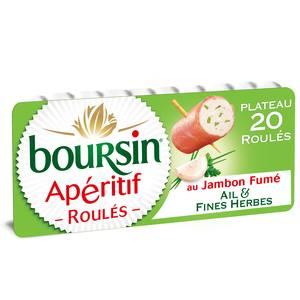 Boursin Apéritif Les roulés de jambon fumé 100g