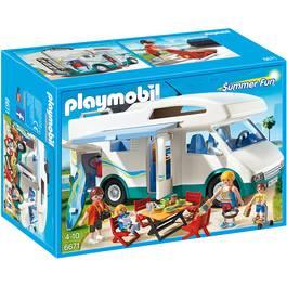 PLAYMOBIL® Summer Fun Famille avec camping-car