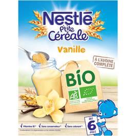 Nestlé Petite céréale vanille bio dès 6 mois