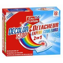 Eau Ecarlate Décolor Stop 2en1 + détacheur