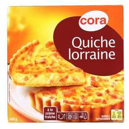 Cora Quiche Lorraine aux oeufs frais et à la crème fraiche