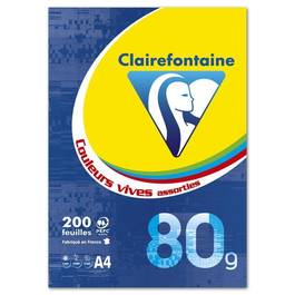 Clairefontaine Ramette 21 x 29,7 cm color flash