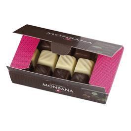 Chocolaterie Monbana Ballotin de 15 palets gourmands