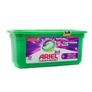 Ariel Lessive 3 en 1 Pods complete fiber protection