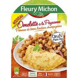 fleury michon omelette la paysane pommes de terre lardons champignons 280g. Black Bedroom Furniture Sets. Home Design Ideas