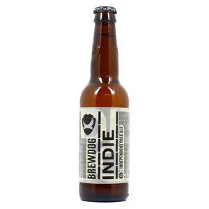 Brewdog indie Bière type IPA 4.2°°