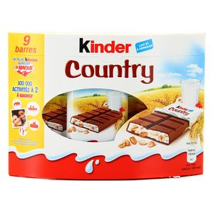 Kinder Barres Country X9