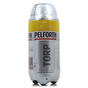 Pelforth Bière blonde 5.8°, fût horizontal
