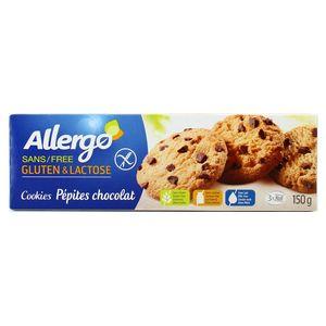 Allergo Cookies aux pépites de chocolat sans gluten et sans lactose