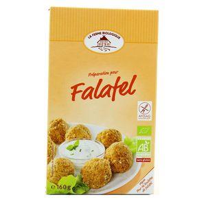 La Ferme Biologique Préparation bio pour falafels, sans gluten