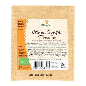 Vite, une soupe ! Potimarron, bio ,PRIMEAL,10g