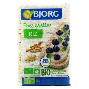 Bjorg Fines galettes de riz bio