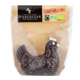 Chevalier D Argouges Poule au chocolat noir 72% de cacao bio