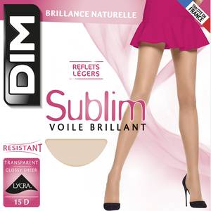 Dim Collant Sublim Voile Brillant Gazelle 15D