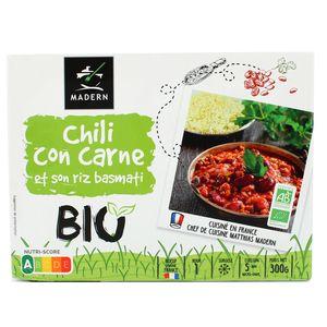 Madern Chili con Carne et son riz Basmati Bio