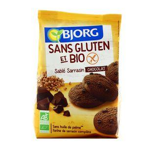 Bjorg Sablé sarrasin chocolat bio et sans gluten