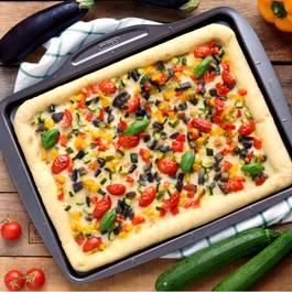 Pyrex Plat à pizza rectangulaire métal Asimetria