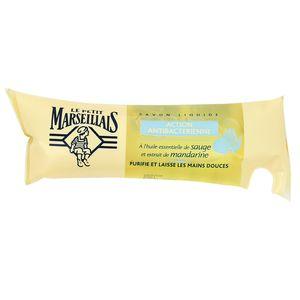Le petit marseillais recharge savon liquide antibacterien l 39 huile de sa - Le chaudron marseillais savon ...
