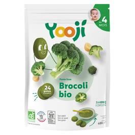 Yooji Purée de brocolis bio surgelée en portions dès 4 mois