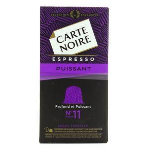 Carte Noire Capsules Espresso Irrésistible N°11