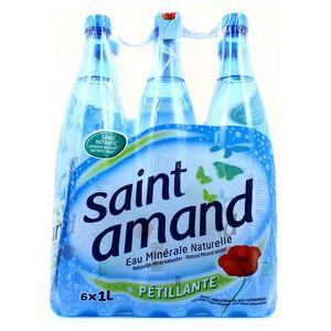 Saint Amand Eau gazeuse minérale naturelle