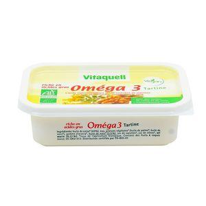 Margarine bio Oméga 3 ,VITAQUELL,250g