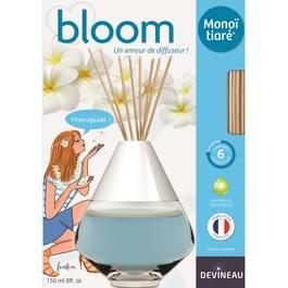 Devineau Diffuseur Bloom parfum à froid Monoï de Tiaré