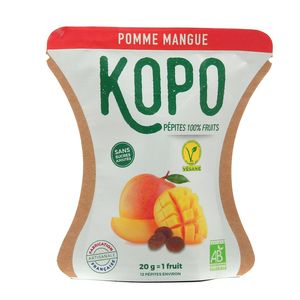 Kopo Pépites 100 fruits Bio - Pomme Mangue