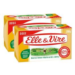 Elle&Vire Beurre gastronomique doux 60% Mat.gr