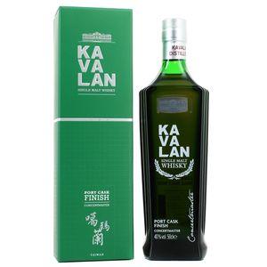 Kavalan  Single Malt Port Cask Whisky 40°