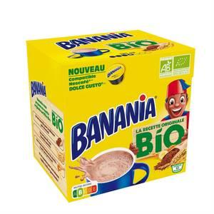 Banania Banania capsules compatibles Dolce Gusto bio