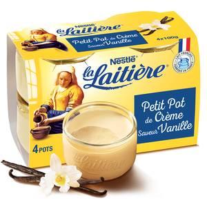 La laitière Le Petit Pot de Crème Saveur Vanille