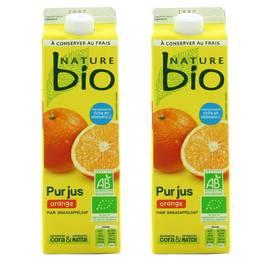 Nature Bio Pur jus d'orange frais Bio