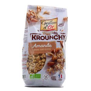 Grillon Or Mes krounchy amande et avoine sans gluten bio