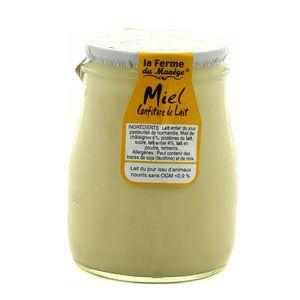 La Ferme du manège Yaourt Miel-confiture de lait au lait entier