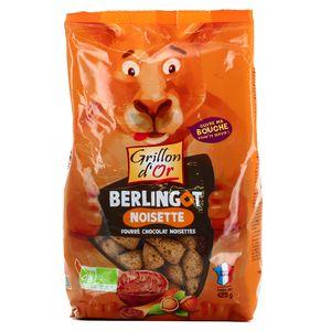 Grillon Or Berlingot noisette fourré chocolat noisette