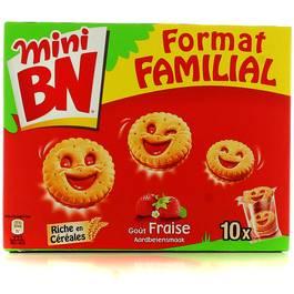 Mini BN fraise, 350g,