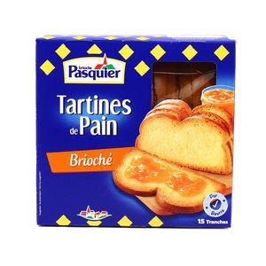 Pasquier Tartines de pain brioché