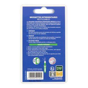 RICQLES Brossettes interdentaires réutilisables  0,7mm