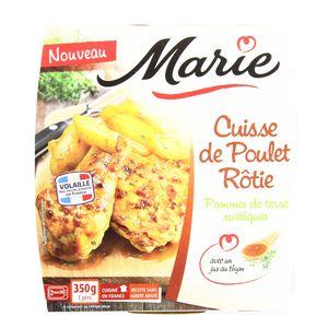Marie Cuisse de Poulet Rôtie, Pomme de Terre rustiques,MARIE,350g